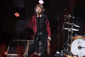 Mick Jagger and The Rolling Stones may have disappointed some with a perfunctory performance of two songs.