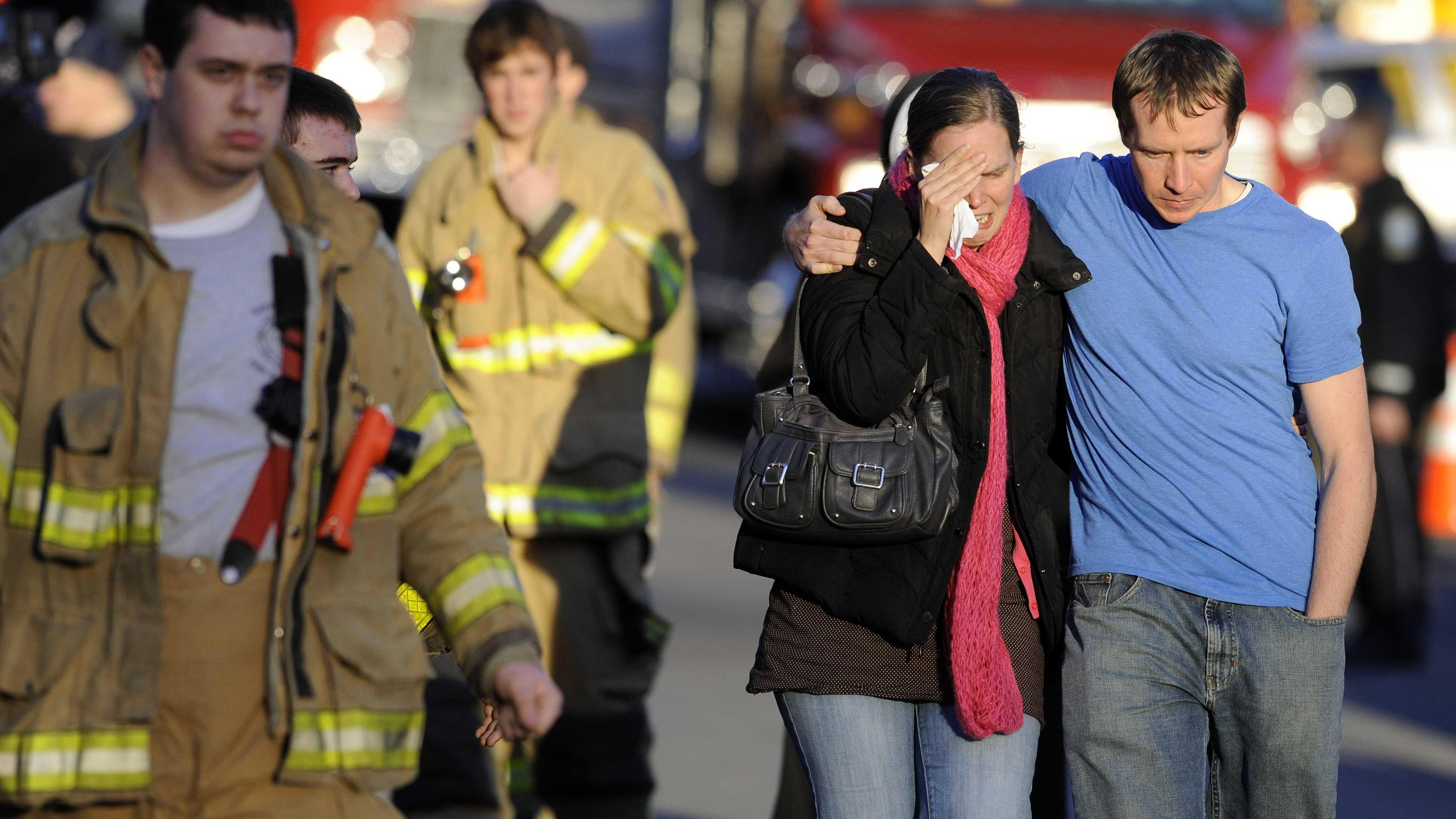 Newtown School Shooting Parents Grieve