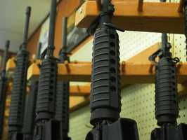 83% of the licenses issued most recently in Massachusetts were for large capacity firearms