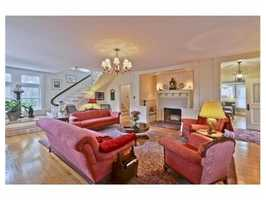 An elegant living room.