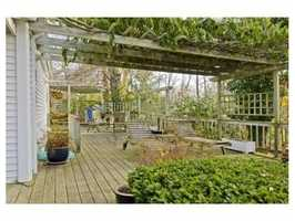 A four-bedroom sister home is included in the sale.