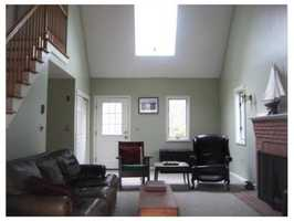 It's a short walk to public transportation.