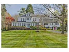 This waterfront compound is on the market for $2.8 million in Sharon.