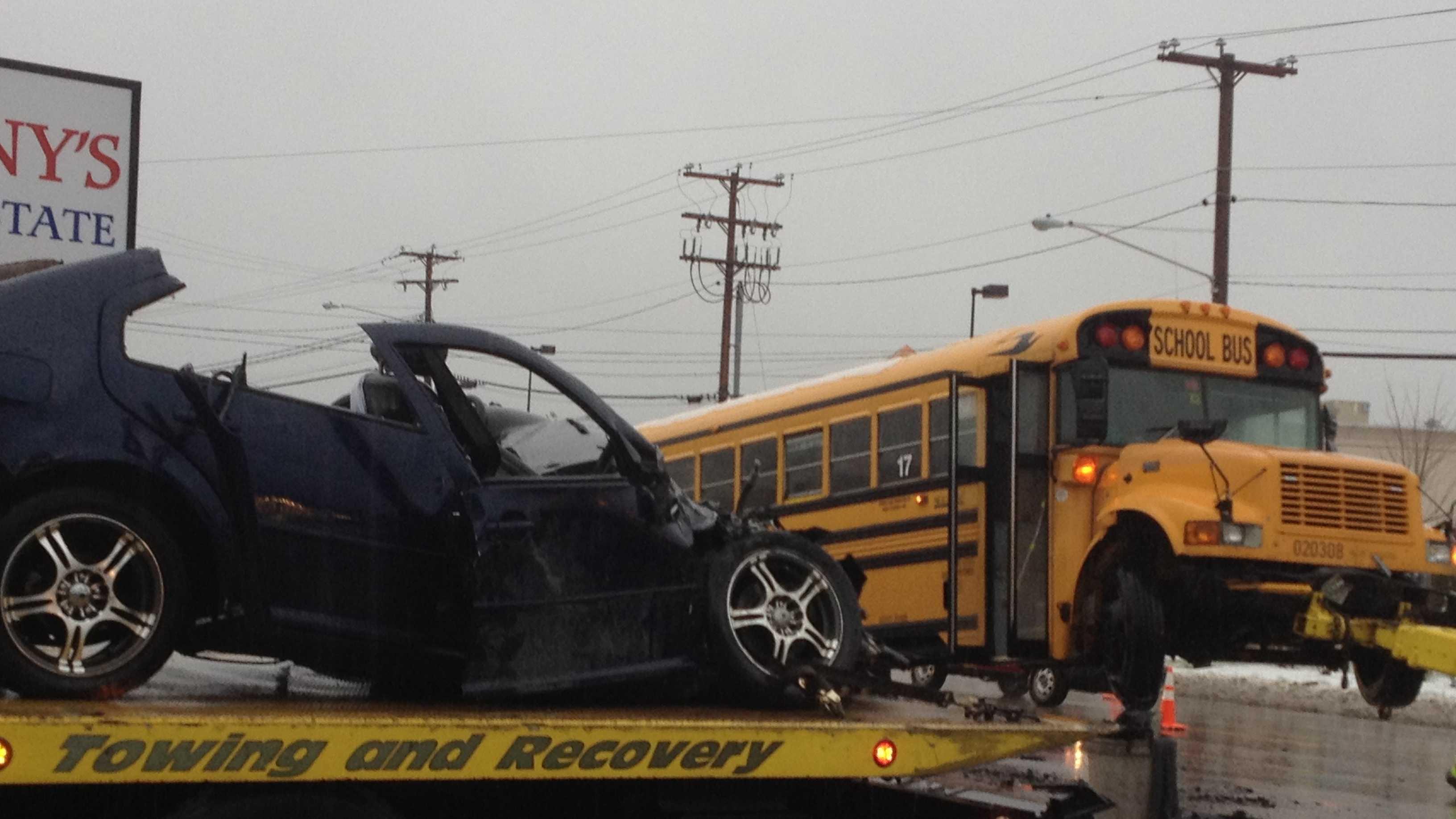 Exeter Bus Crash