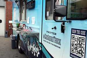 The Cod Squad food truck from Captain Marden.