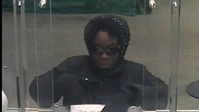 female bank robber milton