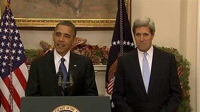 Obama noms Kerry