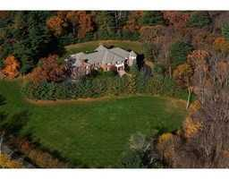 The home is set on 5.64 acres