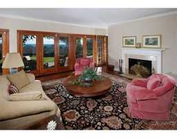There are two fireplaces and many of the rooms have spectacular views.