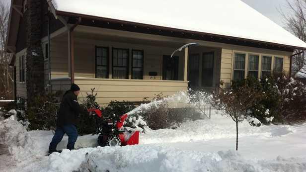 Auburn snowblowing