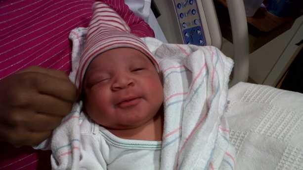 Max Benjamin Pierre - first Mass baby