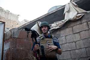 James Foley, 40, of Rochester, N.H., was kidnapped by unidentified gunmen in northwest Syria.