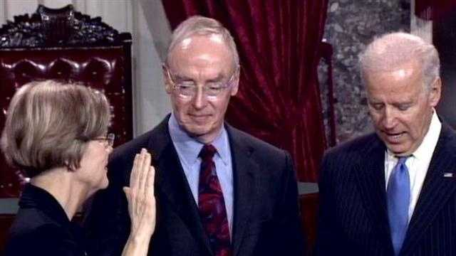 warren sworn in