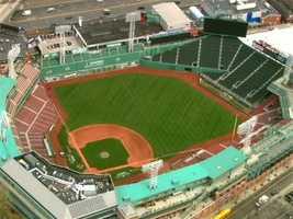 Favorite Boston landmark? Fenway Park