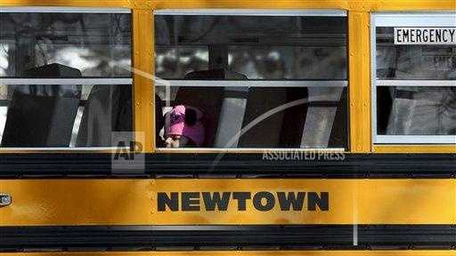 Newtown kids back to school
