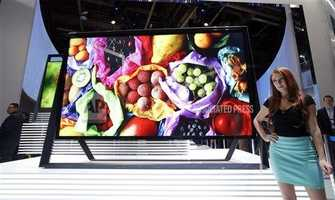 They unveiled an Ultra High-def TV.