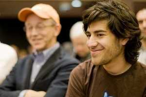 Aaron Swartz was a prodigy who as a young teenager helped create RSS, a family of Web feed formats used to gather updates from blogs, news headlines, audio and video for users. He co-founded the social news website Reddit, which was later sold to Conde Nast, as well as the political action group Demand Progress, which campaigns against Internet censorship.(November 8, 1986 – January 11, 2013)