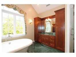 The home has 6 full and 2 partial bathrooms.