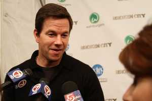 "Broken City"" is the third film Wahlberg has screened at the Hingham Shipyard."