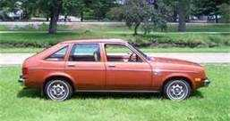 "Liz's first car was a 1975 Chevy Chevette.   ""I bought it used for $1,200.  I was SO proud of paying for it myself my senior year in college,"" she recalls."