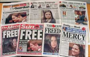 The covers of British national newspapers Tuesday, November 11, 1997.