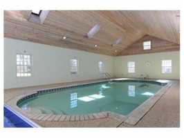 Complete with an indoor swimming pool.