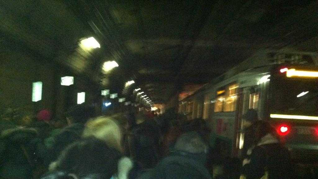 MBTA Fire Inside Tunnel