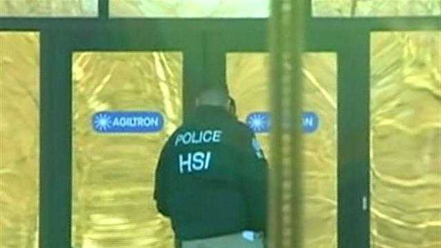 Woburn company target of federal raid