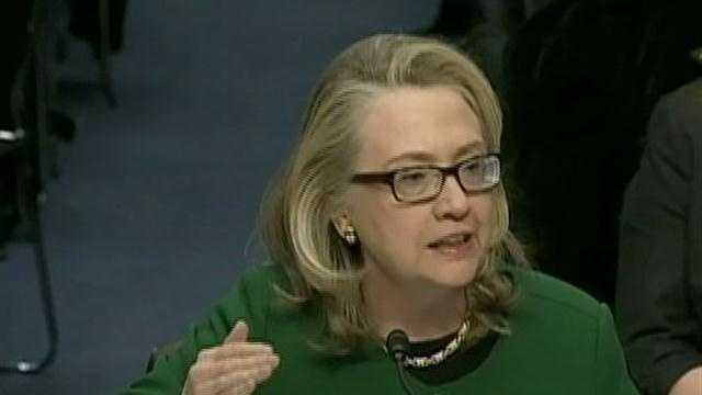 Defiant Clinton takes on lawmakers on Libya attack