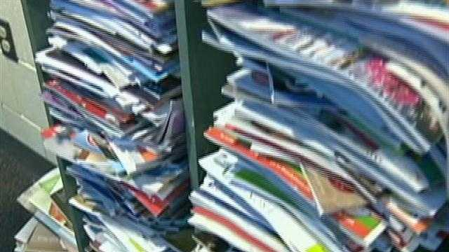 Students save trees by canceling thousands of catalogues