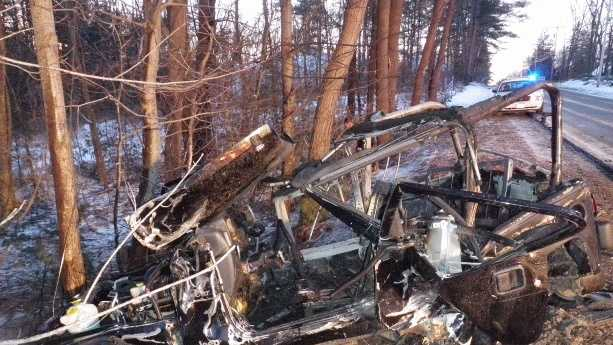 Londonderry crash