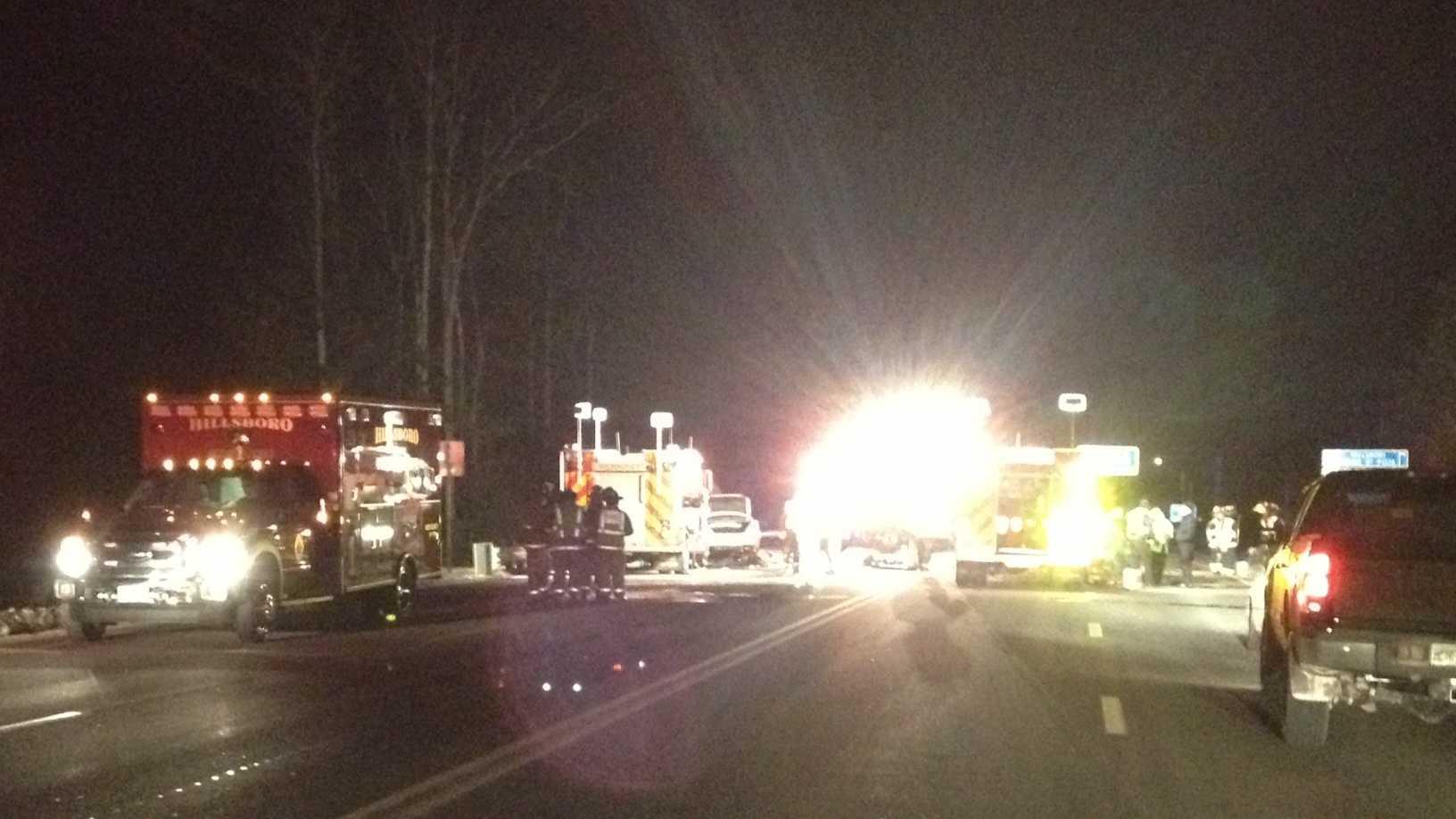 Hillsborough deadly crash