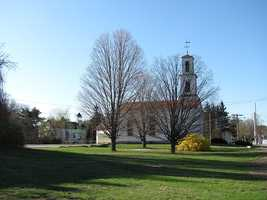 32. (tie) The Tyngsborough school district had a 95.3 percent graduation rate in 2012