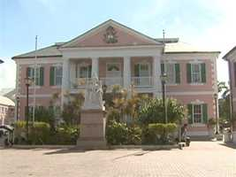 The capital city is Nassau.