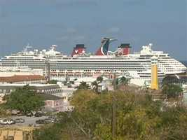 Nassau is a cruise ship magnet.