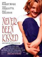 """The last scene in """"Never Been Kissed"""" when Drew Barrymore is waiting on the pitchers mound and Michael Vartan goes up to her and gives her her first kiss!"""