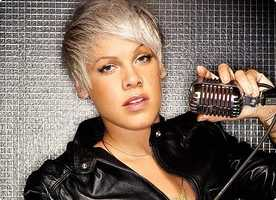 "Right now Heather says she is listening to ""Try"" by Pink"