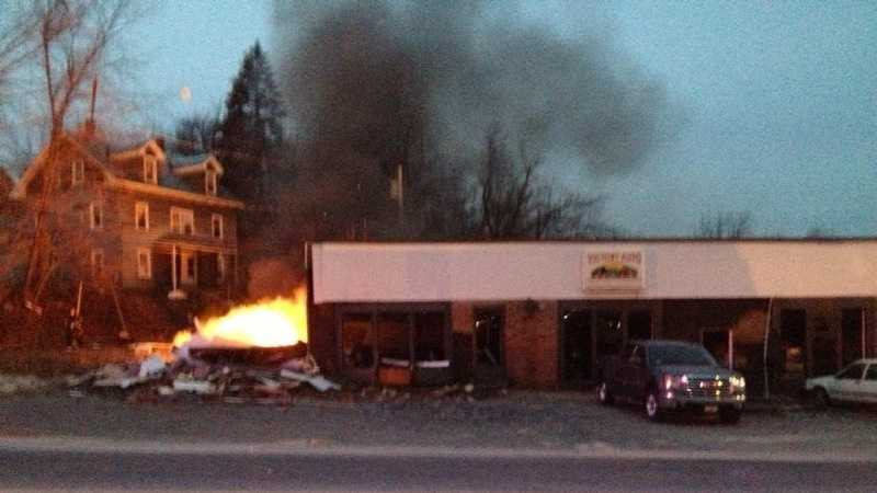 Fitchburg blast