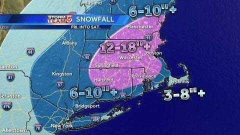 snowfall fri 3