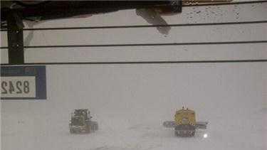 Logan Airport plowing