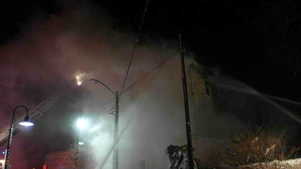 Dorchester fire
