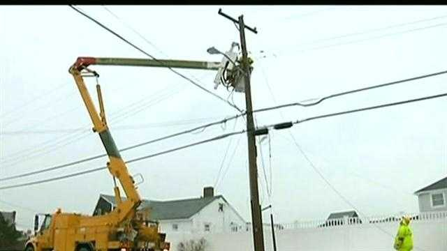 Homes still dark after monster storm