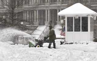 In Baltimore and Boston, this was the biggest snowstorm on record, with 28.2 and 27.6 inches respectively.