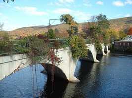 4.) Shelburne Falls -- 75 percent
