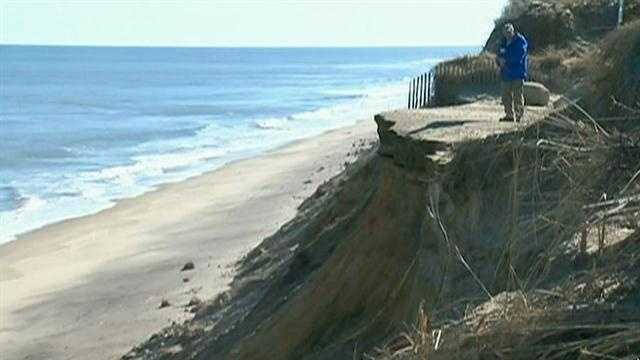 Cape Cod experiences over 10 years of erosion in one storm
