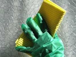 3. Your sponge, dish rag and dish brush. Experts say 75 percent of these items are crawling with germs and bacteria, including E coli.