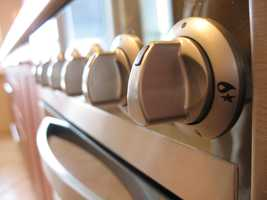 6.  Knobs, handles and switches can be crawling with germs. Experts say any area that we frequently touch will be contaminated.