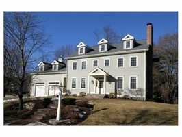 84 Chesterton Road is on the market in Wellesley for $2.1 million.