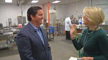 Tripp Keber is the President and CEO of Dixie Elixirs. The company celebrated its 3rd anniversary in February.  Their initial operation opened in 2010 with two employees. Today, the company employs 110 people.