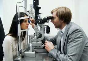2.) Don't routinely order imaging tests for patients without symptoms or signs of significant eye disease.